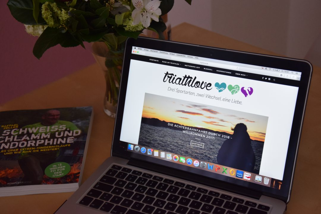 Neue Website: Triathlove-Blog in neuer Optik,