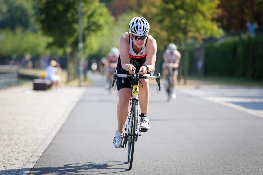 Triathlon Fahrrad fahren