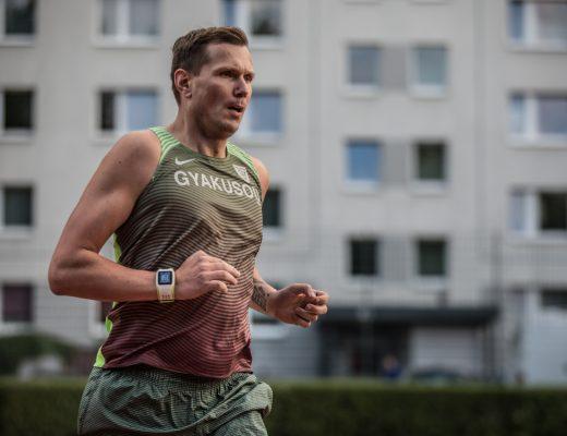 Daniel Klarkowski beim Straka MyMile Fastest Berlin.