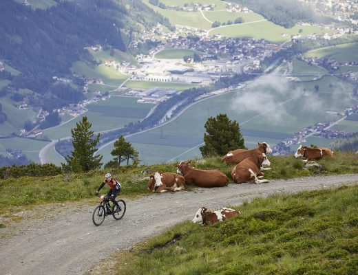 Zillertal Bike Challenge: Panoramablick. Interview mit Carolyn Ott-Friesl.