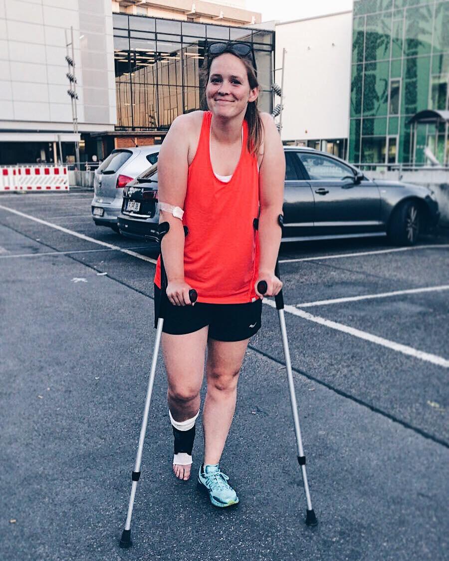 Verletzung: Bänderriss verhindert Start bei der Zillertal Bike Challenge.