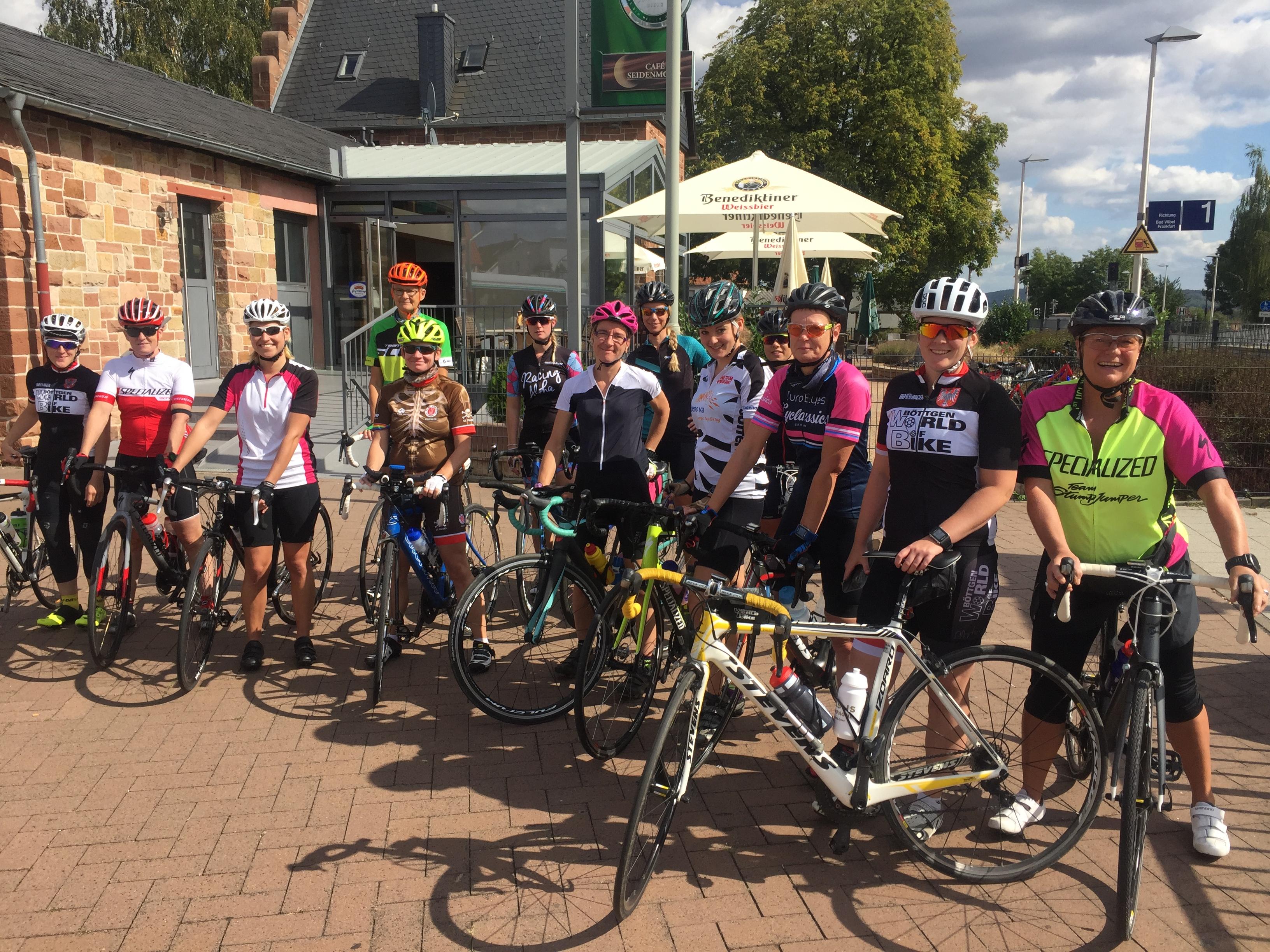 Girlsride in Frankfurt: Rad fahren für Frauen.
